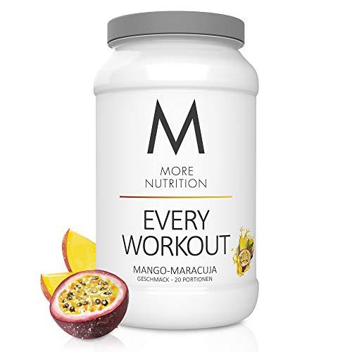 MORE NUTRITION Every Workout Fitness Booster in 13 Sorten - Mehr Kraft, Fokus, Ausdauer und bessere Regeneration...
