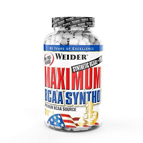WEIDER Maximum BCAA Syntho Aminosäuren für Fitness & Bodybuilding, 240 Kapseln