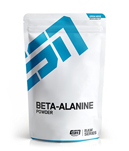 ESN Beta-Alanin – 500 g – 166 Portionen – hochwertiges Beta-Alanin Pulver – vegan – Made in Germany