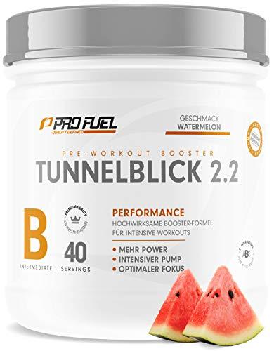 TUNNELBLICK 2.2 Pre Workout Booster | Power • Fokus • Pump | DAS ORIGINAL von ProFuel ® | Pump Booster mit...