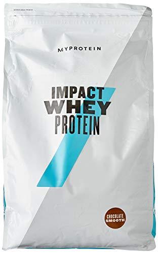 Myprotein Impact Whey Protein Chocolate Smooth, 1er Pack (1 x 5000 g)