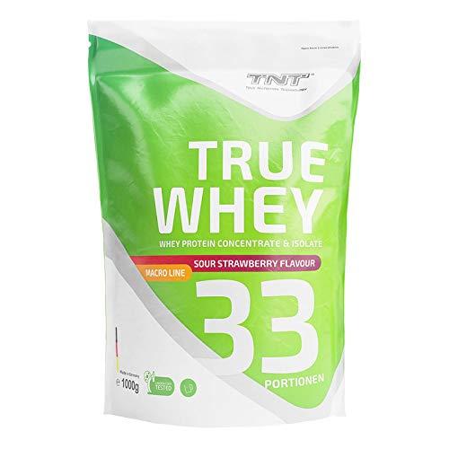 Whey Protein Isolate & Konzentrat Pulver – Eiweißpulver aus Molke – Proteinpulver – Eiweiß-Shake / 1kg -...