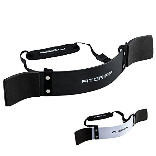 Fitgriff® Arm Blaster - Bizeps Isolator für Bodybuilding, Kraftsport & Gewichtheben - Bizepstrainer