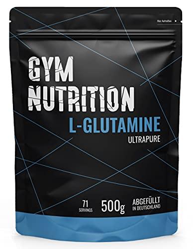 L-GLUTAMIN Ultrapure Pulver extra hochdosiert & 99,5% rein - Laborgeprüft und vegan – ideal für Body-Builder...