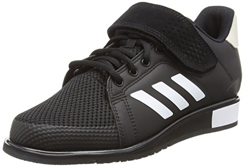 adidas Herren Power Perfect 3 BB6363 Fitnessschuhe, Schwarz (Negro 000), 42 2/3 EU