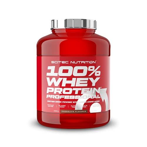 Scitec Nutrition 100% Whey Protein Professional mit extra zusätzlichen Aminosäuren und Verdauungsenzymen, 2.35...