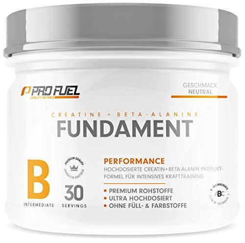 FUNDAMENT | Creatine Monohydrate (Creapure®) & Beta Alanin Pulver (CarnoSyn™) | Die Basis für KRAFT und...