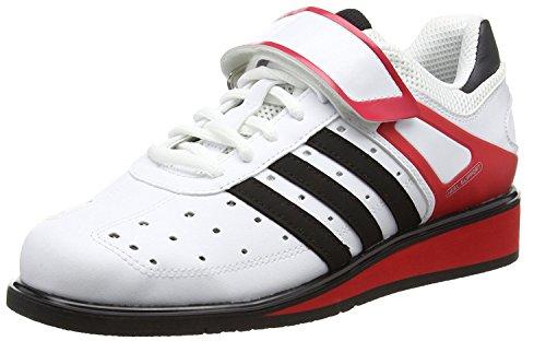 adidas Power Perfect Ii, Unisex Erwachsene Hallenschuhe, Weiß, 48.7 , (13 UK)