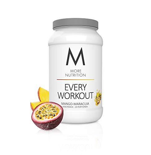 MORE NUTRITION Every Workout (1 x 700 g Pulver) - Fitness Booster mit Creatin für mehr Power und Pump beim...