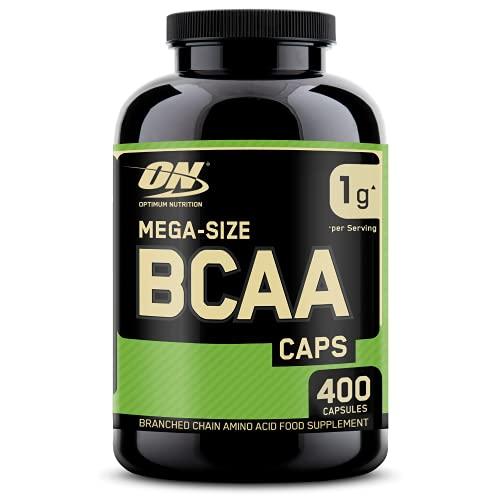 Optimum Nutrition ON BCAA 1000, BCAA Kapseln Reich an Essentiellen Aminosäuren Komplex, L-Leucin, L-Isoleucin und...