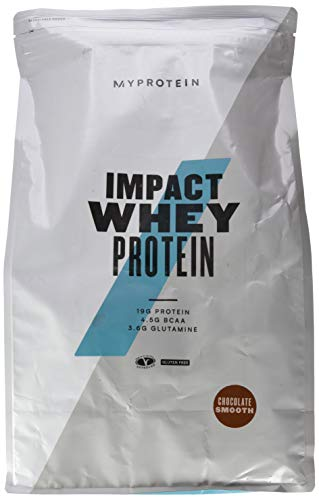 Myprotein Impact Whey Protein Chocolate Smooth, 1er Pack (1 x 5000 g)