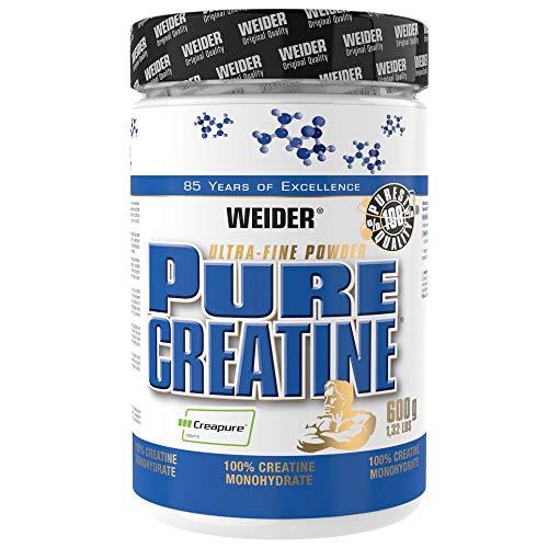Weider Pure Creatine - Creapure Kreatin Monohydrat Pulver 600 g, Fitness & Bodybuilding, 176 Portionen