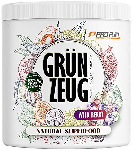 GRÜNZEUG   Das Beste aus über 40 Sorten Obst, Gemüse, Algen und Gräsern   Hochwertiges Superfood mit Vitaminen...