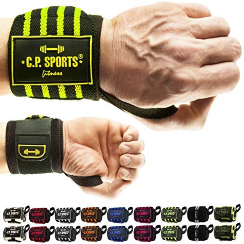 C.P. Sports Profi Handgelenk Bandagen Fitness Profi handgelenkbandage krafttraining Bandage Handgelenk...