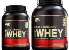 Gold Standard Whey 0,8kg und 2,4kg Dose